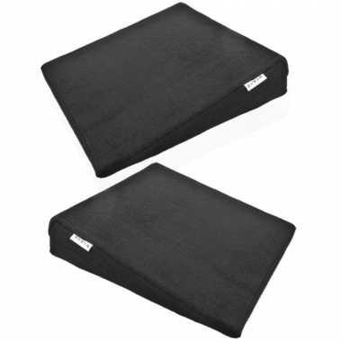 2x stuks zitcomfort/houding kussens voor thuis/werk 37 cm