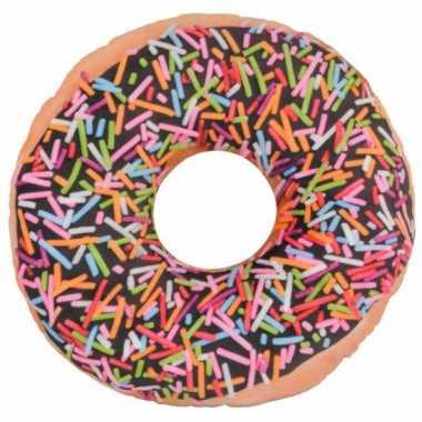Bank kussen donut 36 cm