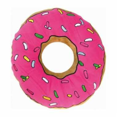 Bank kussen donut 40 cm