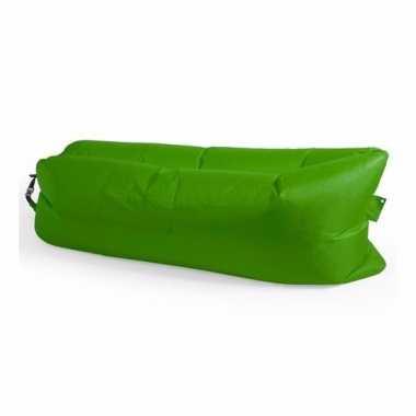 Festival lounge ligkussen groen