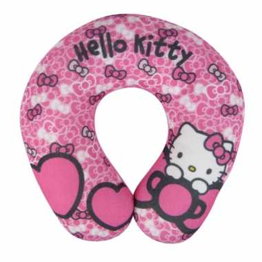 Hello Kitty reiskussentje roze