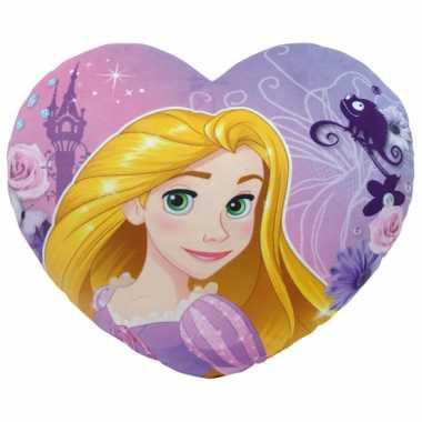 Kinder hartjes kussen Rapunzel