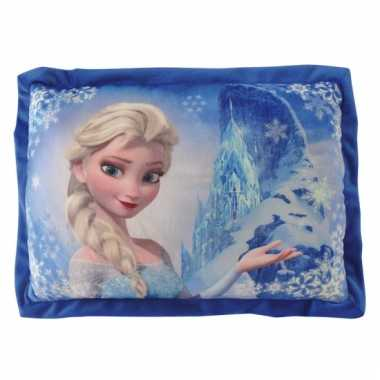 Kinder kussen Frozen Elsa 43 cm
