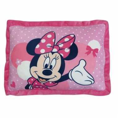 Kinder kussen Minnie Mouse 43 cm