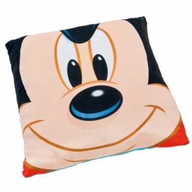 Kinderkamer kussentje Mickey Mouse