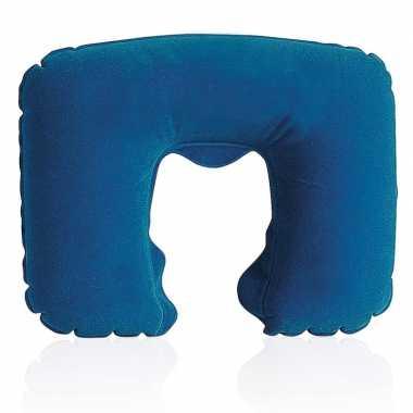 Opblaasbare nekkussentjes donkerblauw