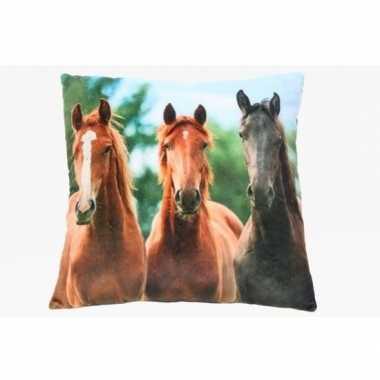 Paardenkussen voor meisjes 35 cm