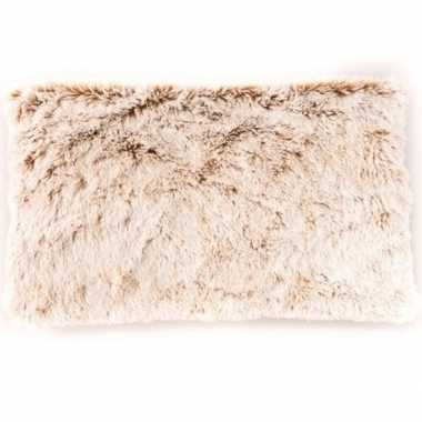 Warmte kussen creme kado 40 cm