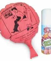 Fun fop scheten kussen en stinkende poep spray