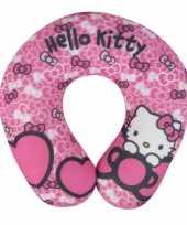 Hello kitty reiskussentje roze