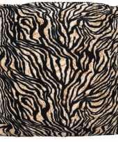 Kussen met tijger print 45 cm